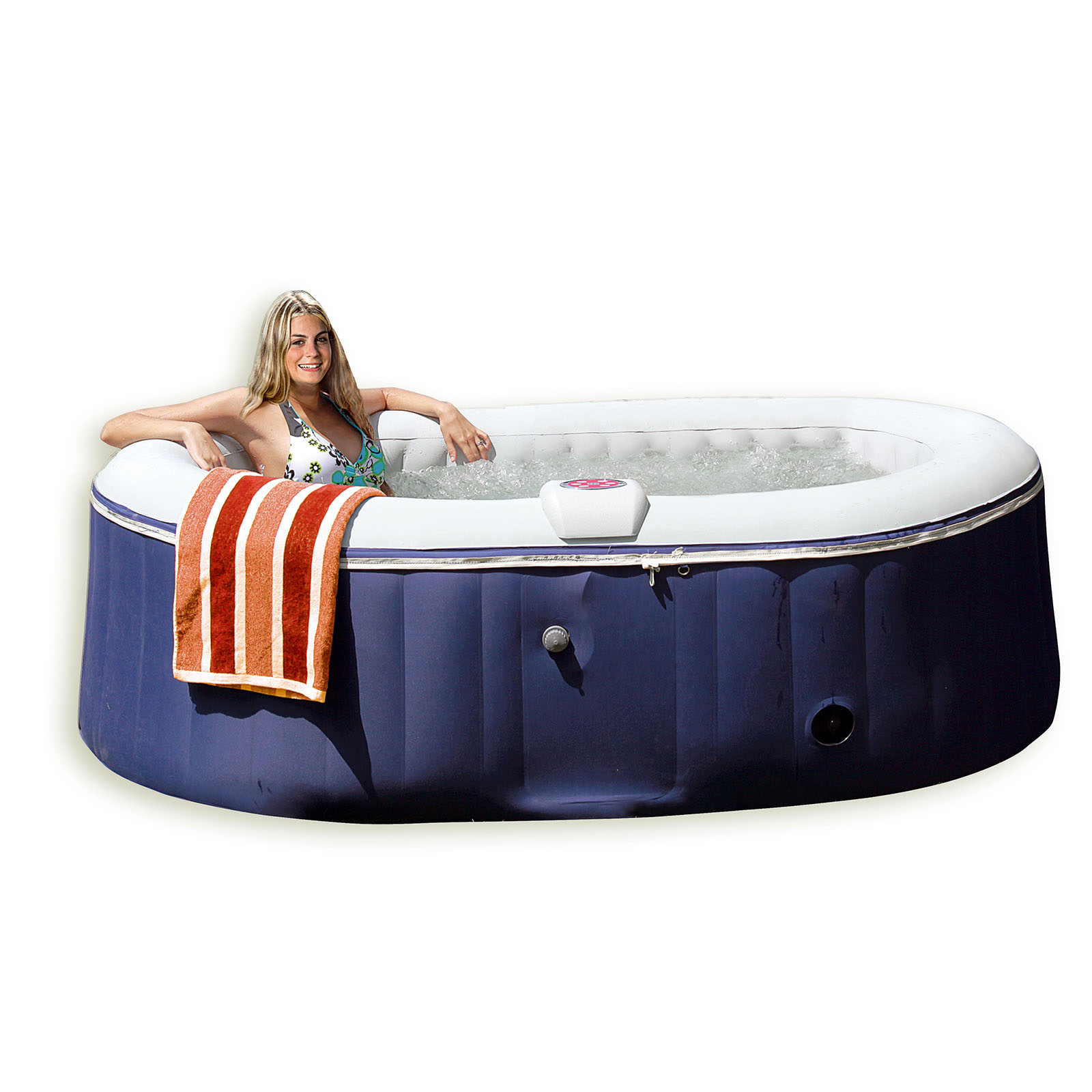 jacuzzi gonflable pour 4 personnes avec chauffage jacuzzi outdoor indoor ebay. Black Bedroom Furniture Sets. Home Design Ideas