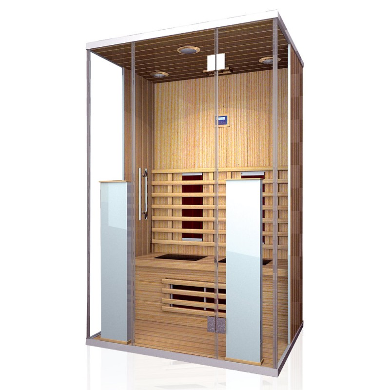 infrarotkabine w rmekabine sauna oder infrarot sauna f r. Black Bedroom Furniture Sets. Home Design Ideas