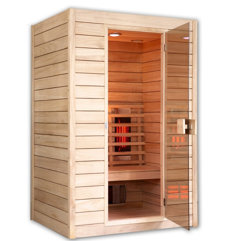 infrarot w rmekabine rotlicht sauna ik d mit tiefenw rme ebay. Black Bedroom Furniture Sets. Home Design Ideas
